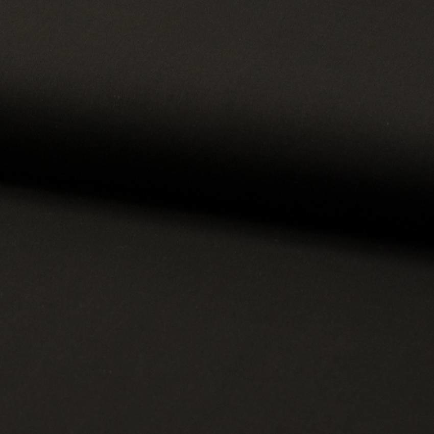 Voile katoen Zwart