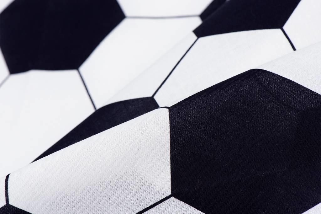 Voetbalstoffen Zwart-wit Voetbal
