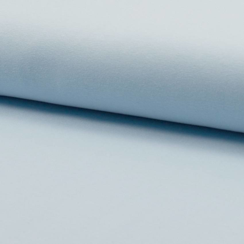 Tricot stof lichtblauw