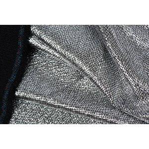 Lurex  Ruit Zwart / Zilver