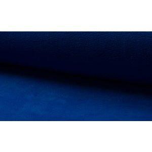 Fleece kobaltblauw