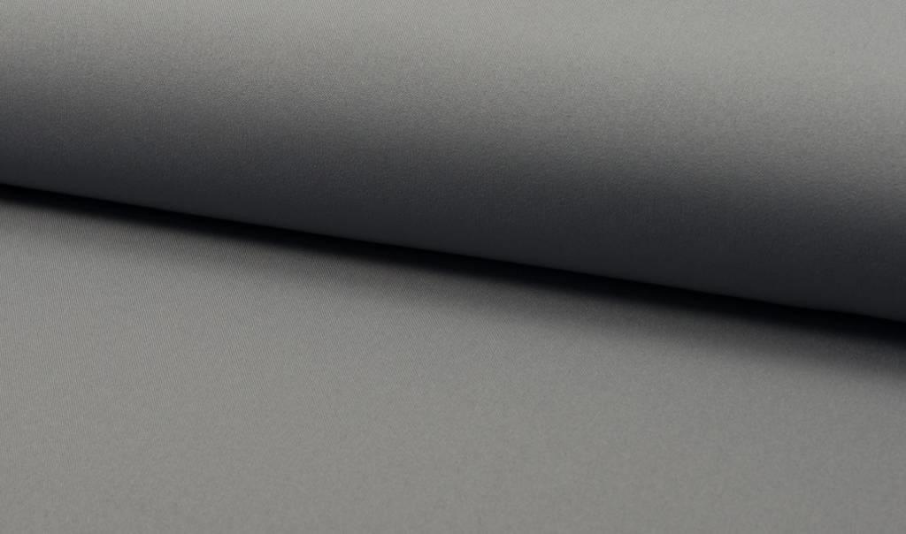 Bi-stretch / Texture / Burlington Lichtgrijs, Per Rol 25 meter- 280 cm Breed
