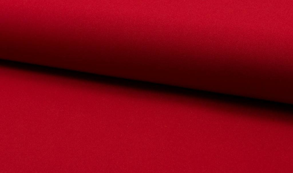Bi-stretch / Texture / Burlington Rood, Per Rol 25 meter- 280 cm Breed