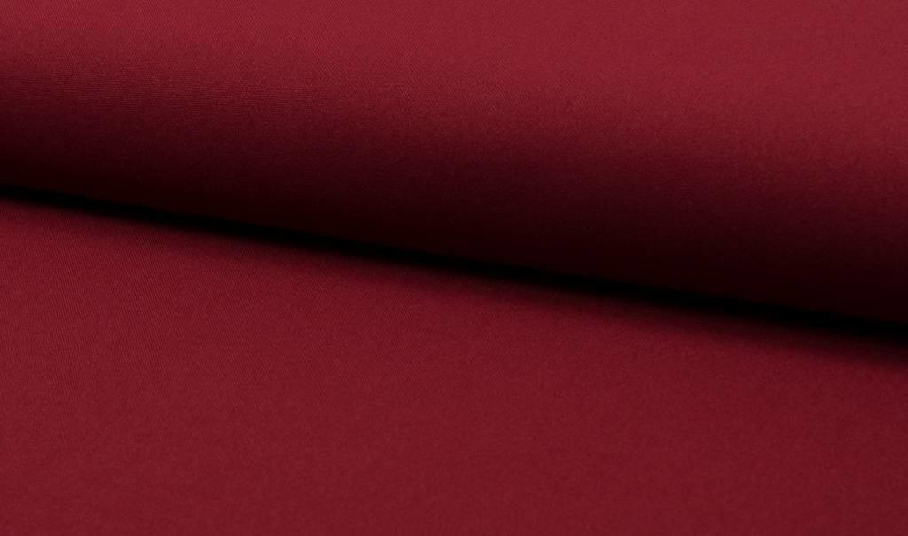 Bi-stretch / Texture / Burlington Bordeaux, Per Rol 25 meter- 280 cm Breed