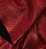 Lurex  Ruit Rood / Zwart