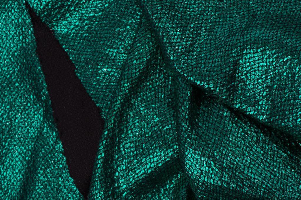 Lurex  Ruit Groen / Zwart