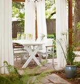 Outdoor Gordijnstof Diodes Off-White