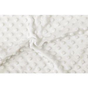 Minky Fleece Stof Off-White