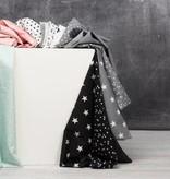 by Poppy designed for you Katoen Poplin, Petit Dots Black