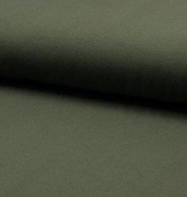Katoen tricot- khaki