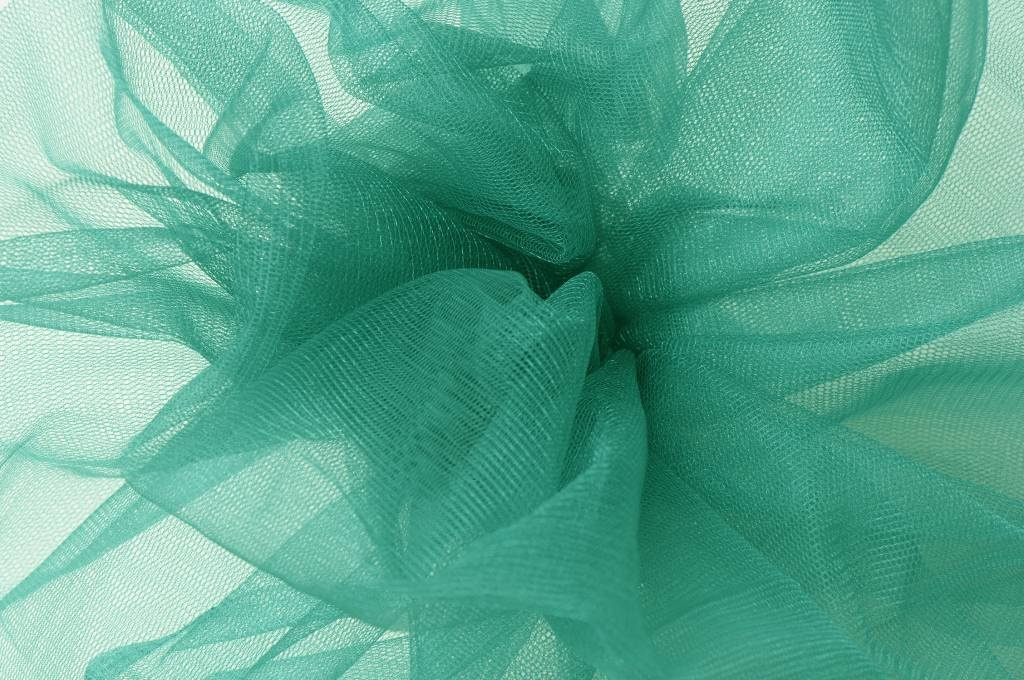 Sparkling Glamour Tule Seagreen