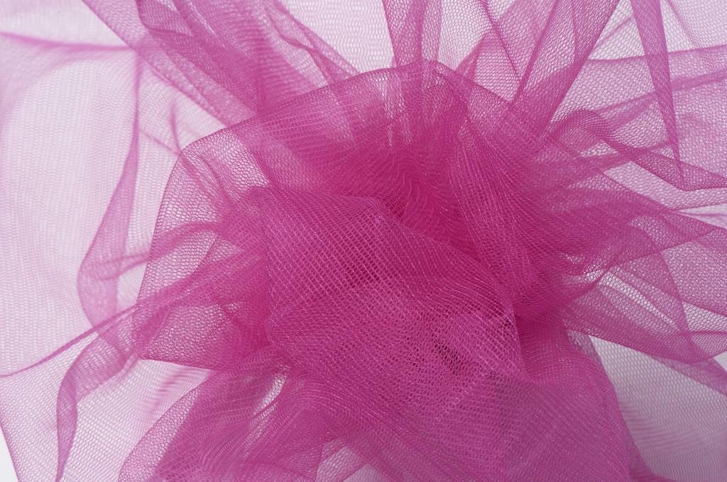 Sparkling Glamour Tule Fuchsia