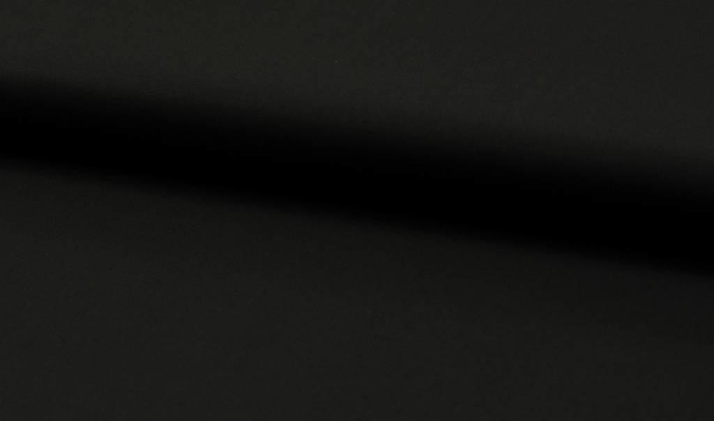 Laken katoen 240 cm Breed Zwart
