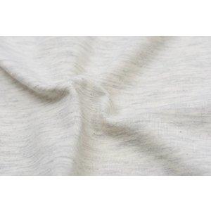 Katoen tricot- off-white melange