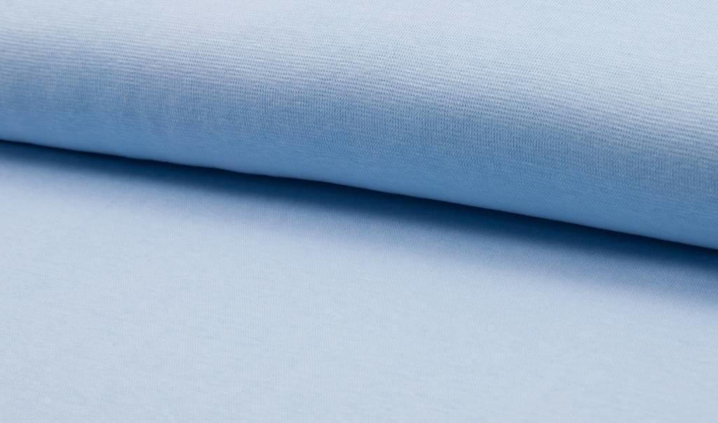 Boordstof fijn, soft blue