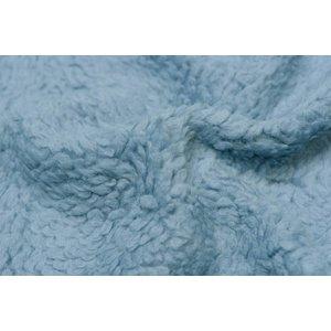 Toff Designs Borg katoen oudblauw