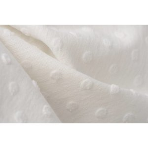 by Poppy designed for you Cotton Minky Off-White