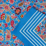 Zakdoeken Paisley Print Blauw