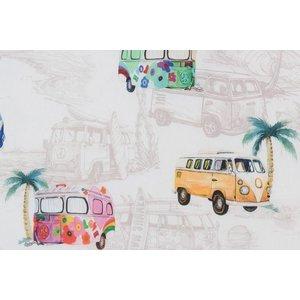 Deco Stof Hippie Bus