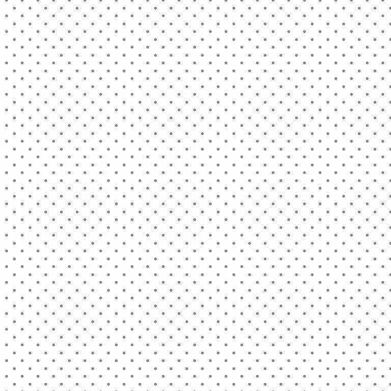 by Poppy designed for you Katoen Poplin, Petit Dots White/Grey