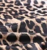 Zijde Jersey Luipaard Print