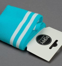 by Poppy designed for you Boordstof / Cuffs Strepen Aqua