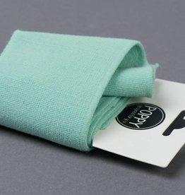 by Poppy designed for you Boordstof / Cuffs Uni / Effen Mint