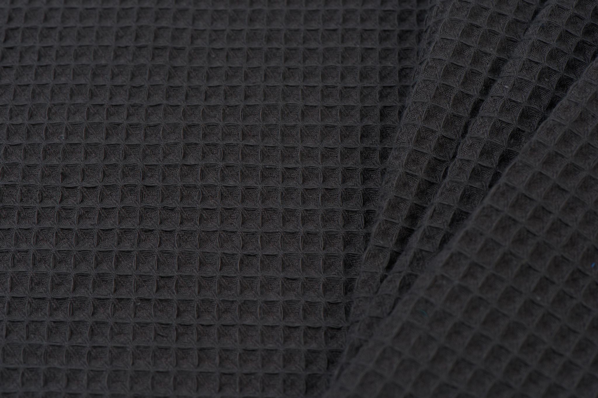 Wafel Katoen, Dark Anthracite Grey