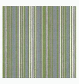 Outdoor Stof Stripes Tavira Moss Green