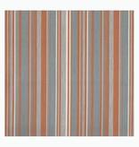 Outdoor Stof Stripes Tavira Light Orange