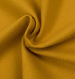 by Poppy designed for you Cotton Flanel Uni / Effen Ochre
