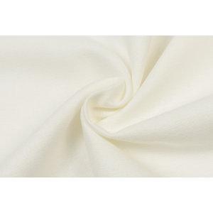 by Poppy designed for you Cotton Flanel Uni / Effen Ecru