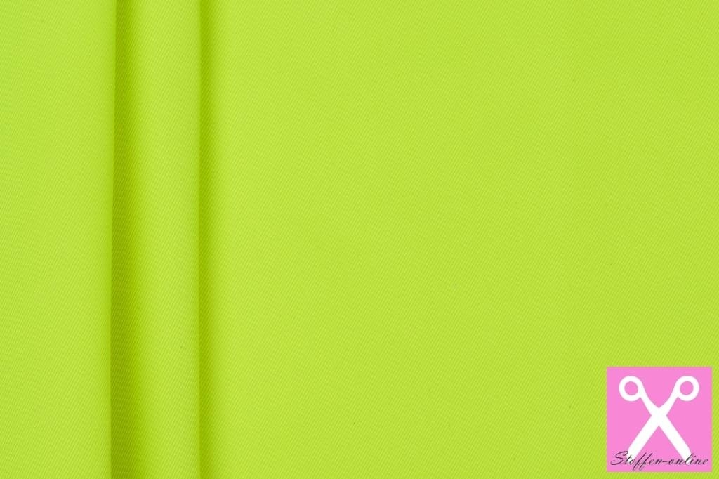 Workwear / Keperkatoen Fluor Citroengeel