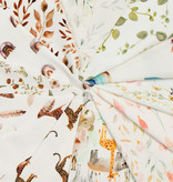 Jersey Katoen Digitale Print - Katjes Wilgentak