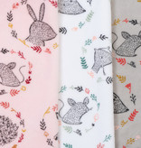 by Poppy designed for you Nicky Velours Forrest Friends Grey