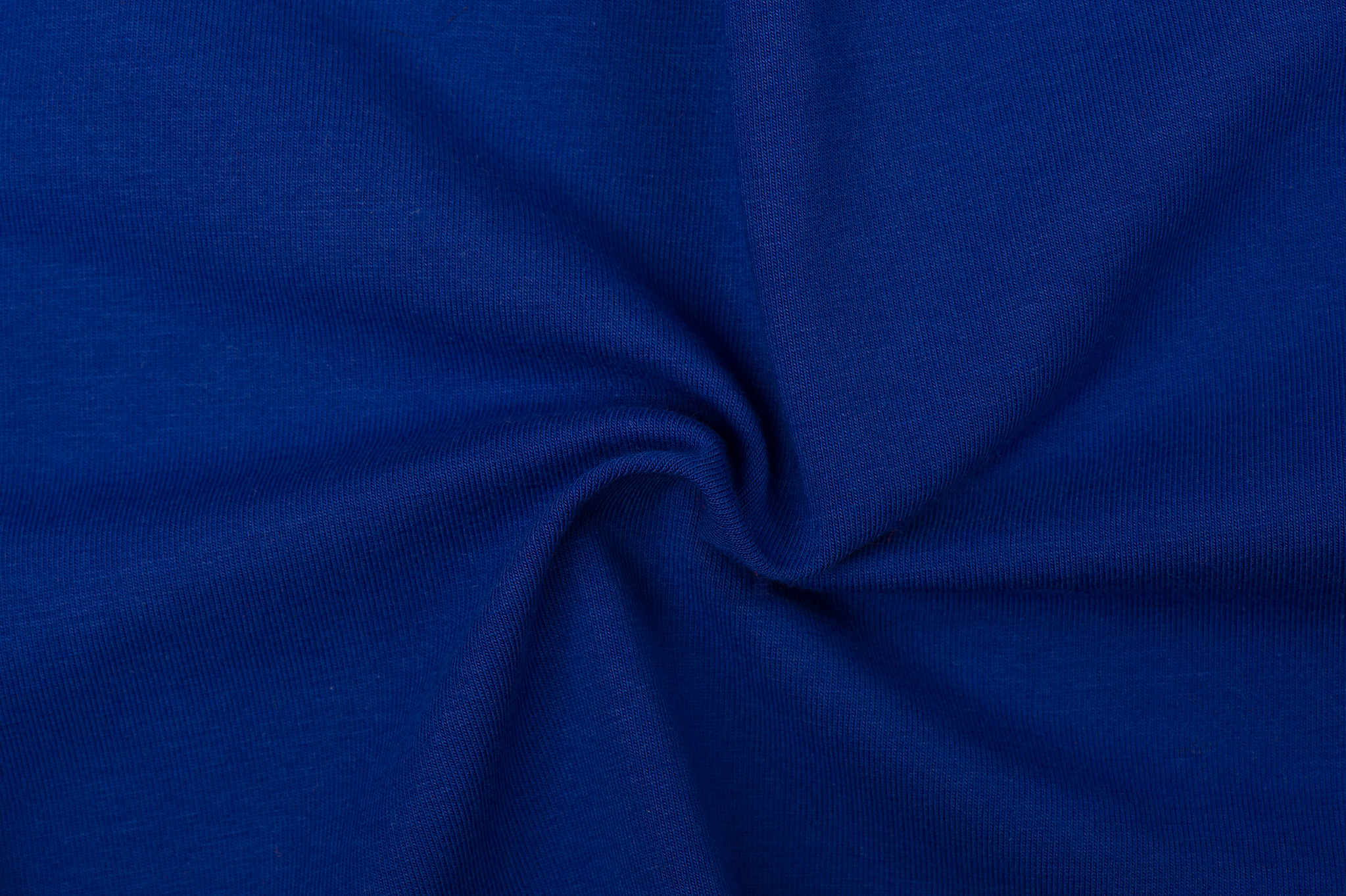 by Poppy designed for you GOTS Jersey Uni / Effen Cobalt