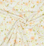 by Poppy designed for you Nicky Velours Sweet Flowery White