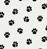 by Poppy designed for you Decostof Dog Paw Off White