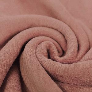 Stretch Badstof Klei Roze
