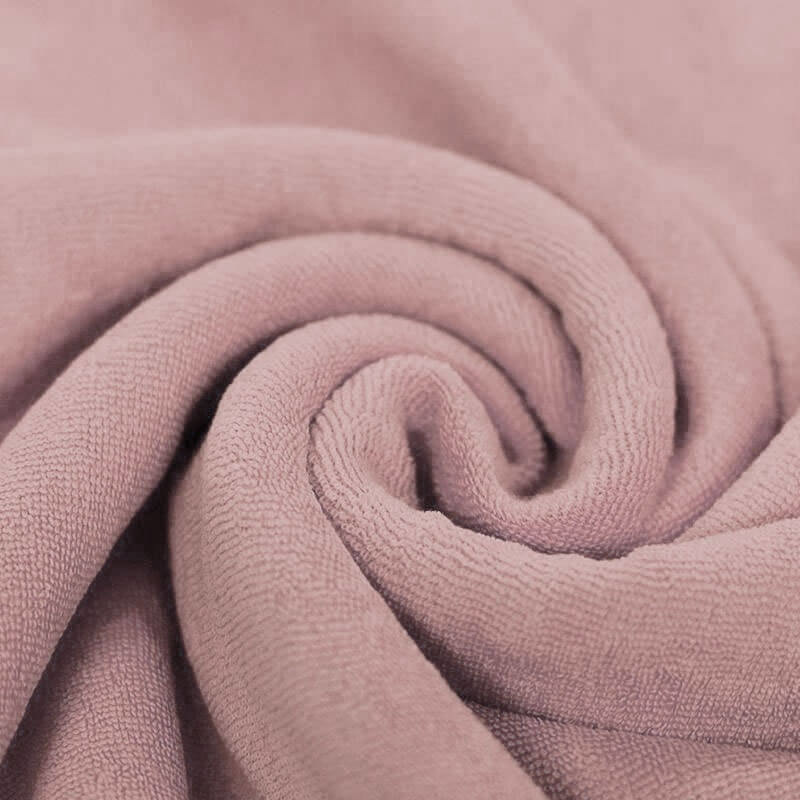 Stretch Badstof Nude Roze