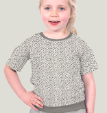 Nooteboom Textiles Tricot Cute Leopard Light Grey