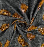 Jersey Digital Animal Jeans Black