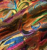 Brokaat stof fantasy multicolor