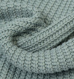 Gebreide stof, Big Knit Cable Old Green
