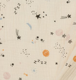 Baby Cotton / Mousseline Sketched Space Licht Beige