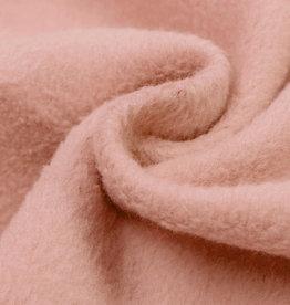 Fleece Katoen Salmon Pink