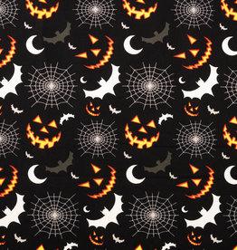 Katoen Poplin Halloween