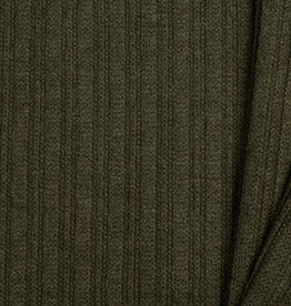 Nooteboom Textiles Tricot Knitted Cable Khaki