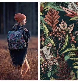 Soft Cactus & See You at Six Autumn Joy Katoen Canvas Gabardine Twill Forest River