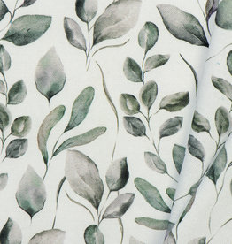 by Poppy designed for you Decostof Leaves Off White